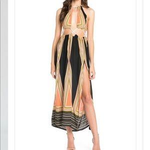 FINAL PRICE DROP Print Maxi Dress